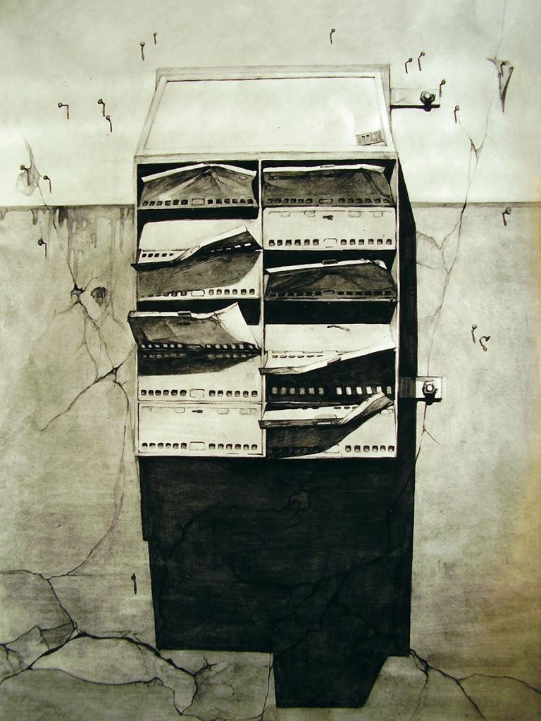 Skrzynka, 1975, zezbiorów Muzeum Narodowego wWarszawie