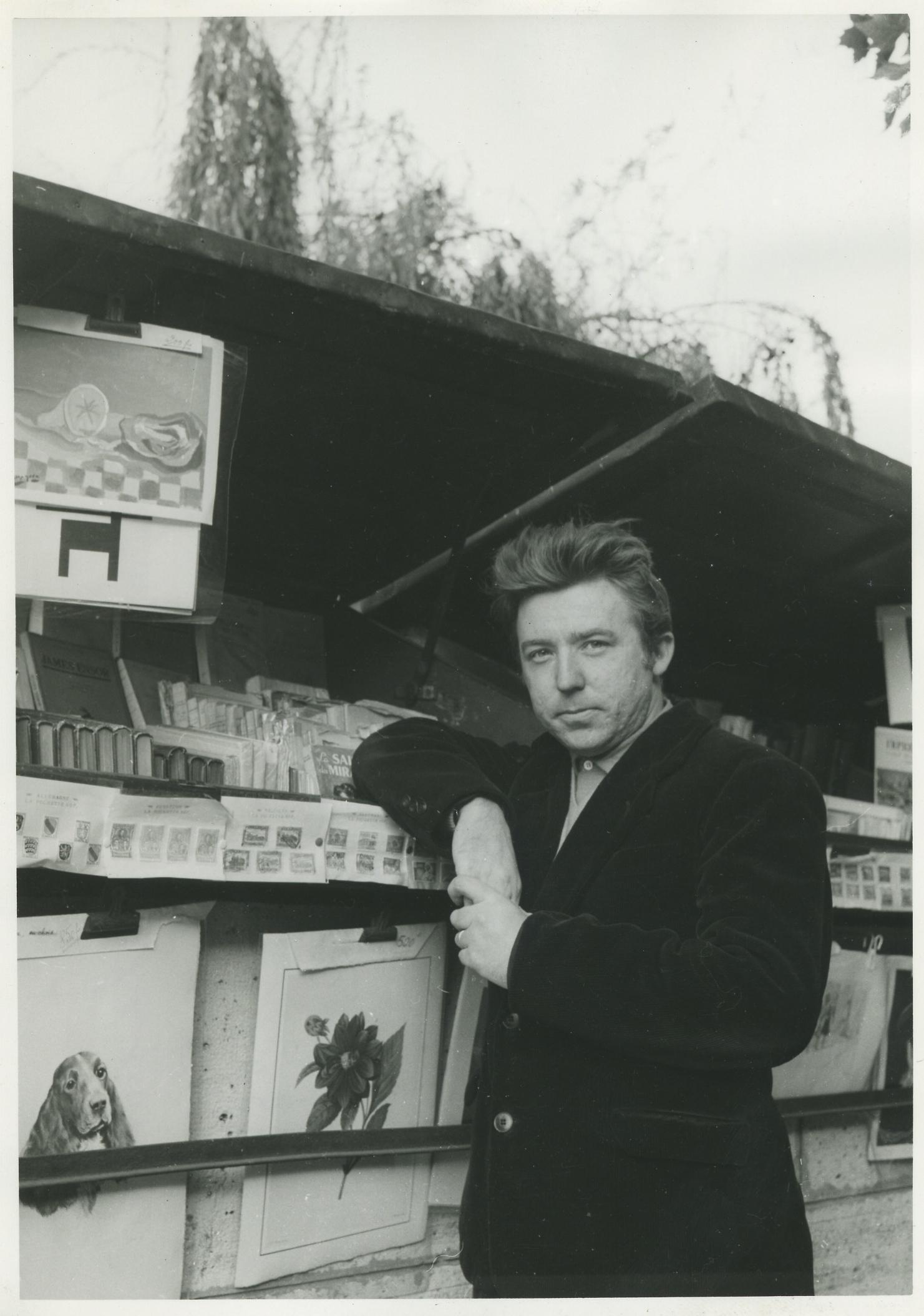 Michel Ragon, 1955, Paryż